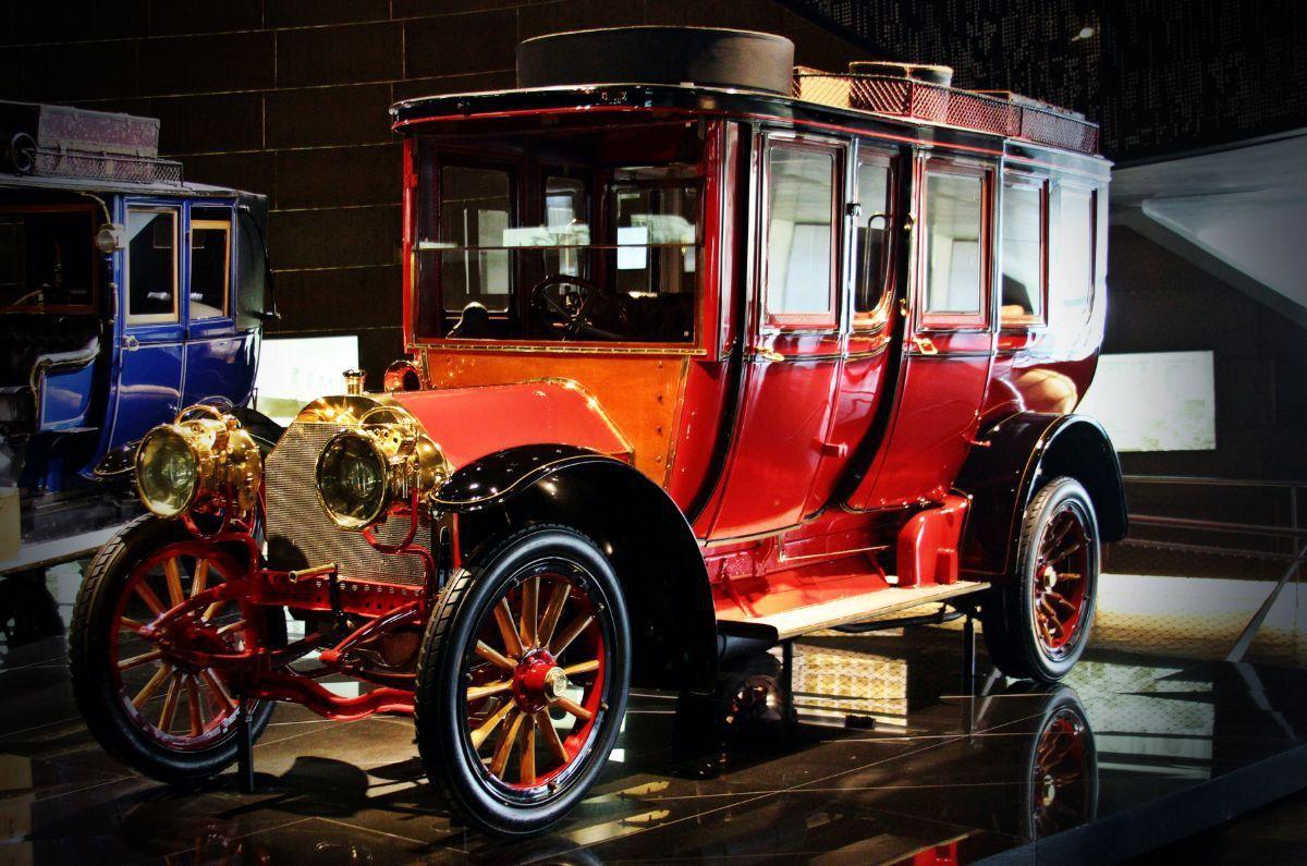 Mercedes-Benz muziejuje
