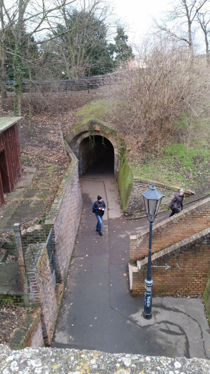 Vyšehrad sodų tuneliai