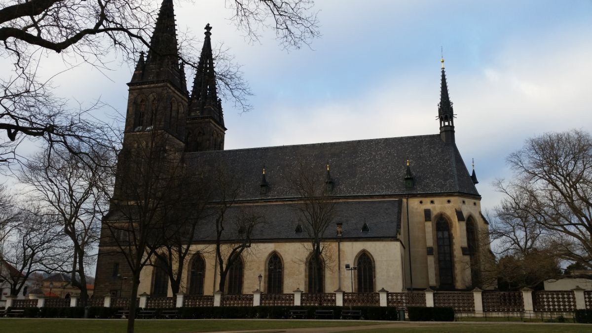 Vyšehrad katedra – bazilika