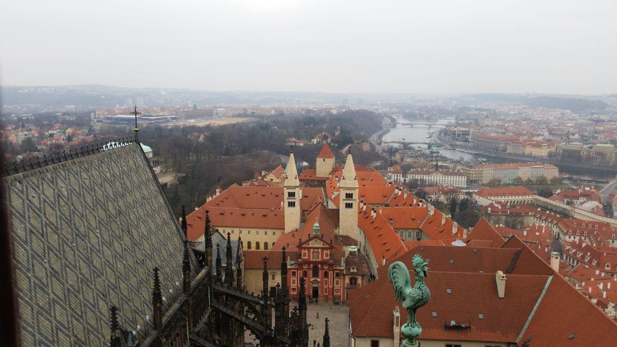 Vaizdas iš Katedros bokšto