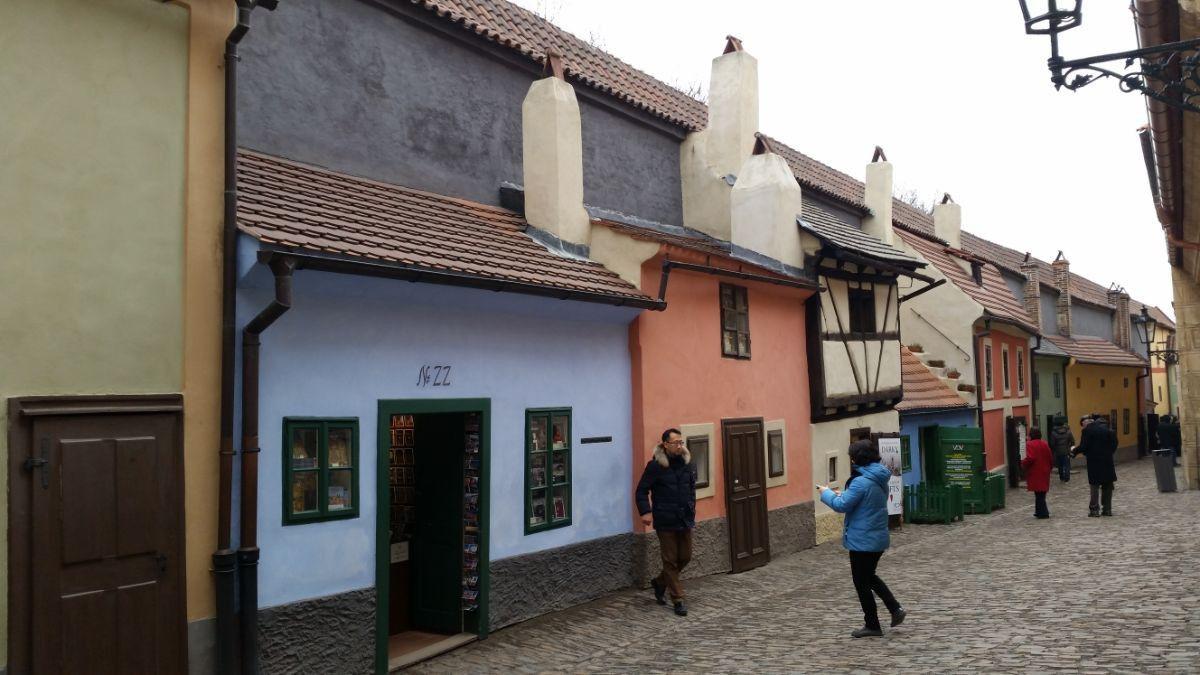 Auksinė gatvelė Prahoje