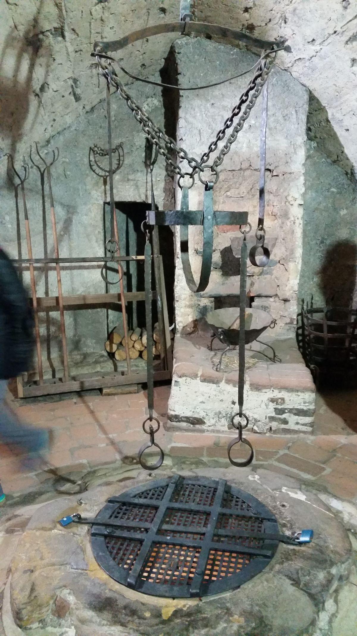 Kankinimų kamera kalinių bokšte