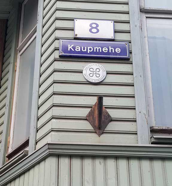Gyvenome Kaupmehe gatvėje
