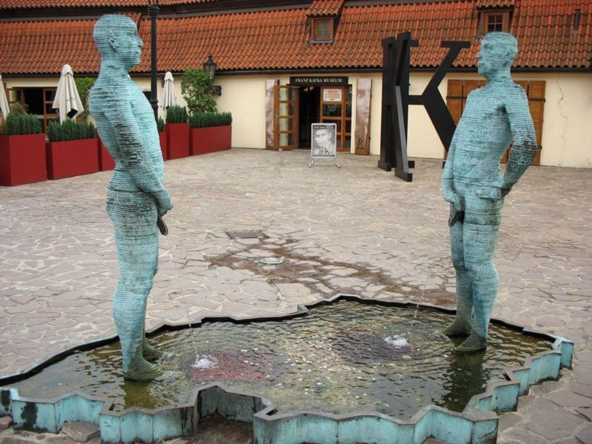 Kafkos muziejaus kiemelio pažiba