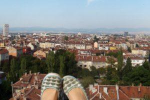 Sofijos miesto panorama