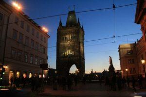 Vakarėjanti Praha