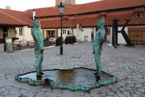 David Černý skulptūra