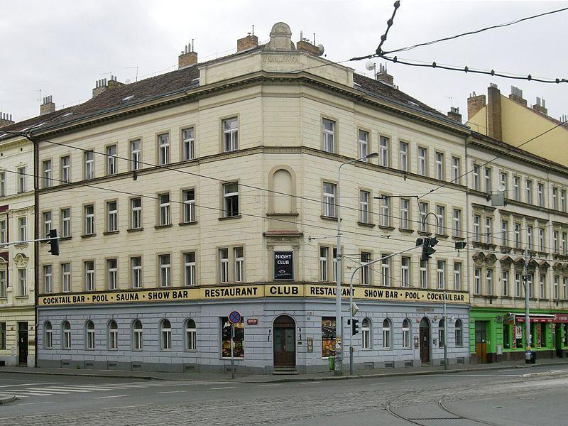 Buvęs bordelio pastatas