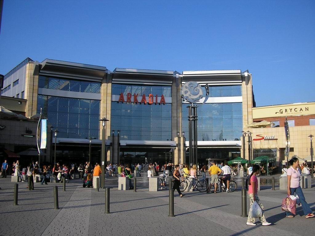 Prekybos centras Arkadia laikomas vienas didžiausių visoje Rytų Europoje