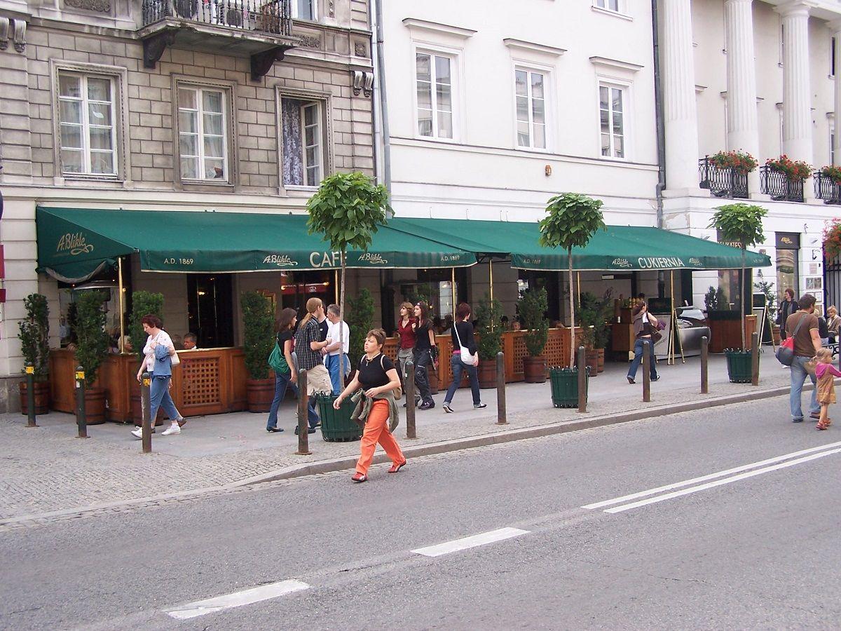 Blikle – garsiausia kepinių parduotuvė Varšuvoje
