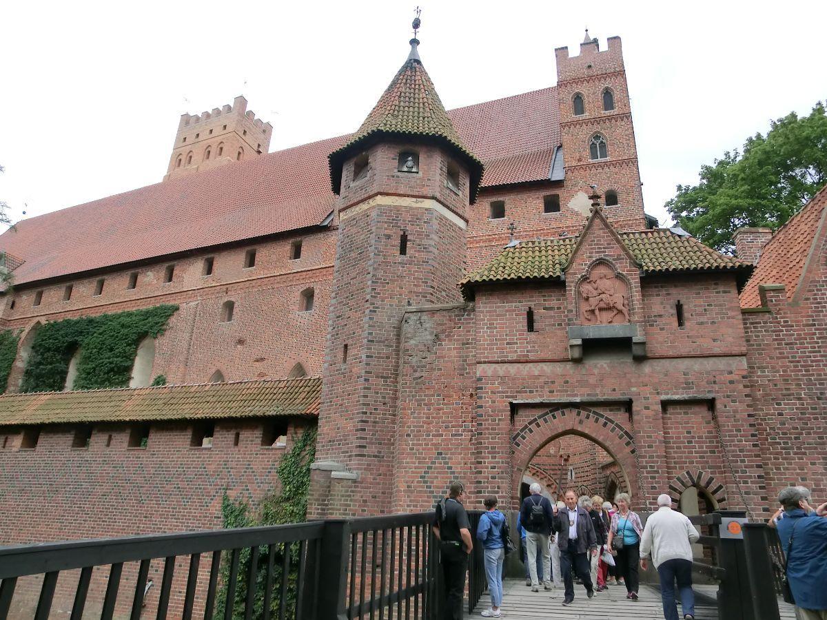 Malborko pilies bokšteliai