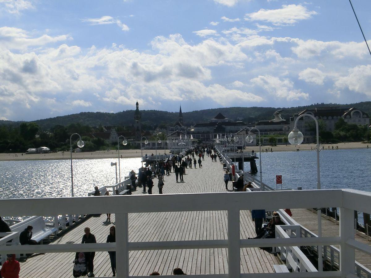 Panorama į Sopoto miestelį
