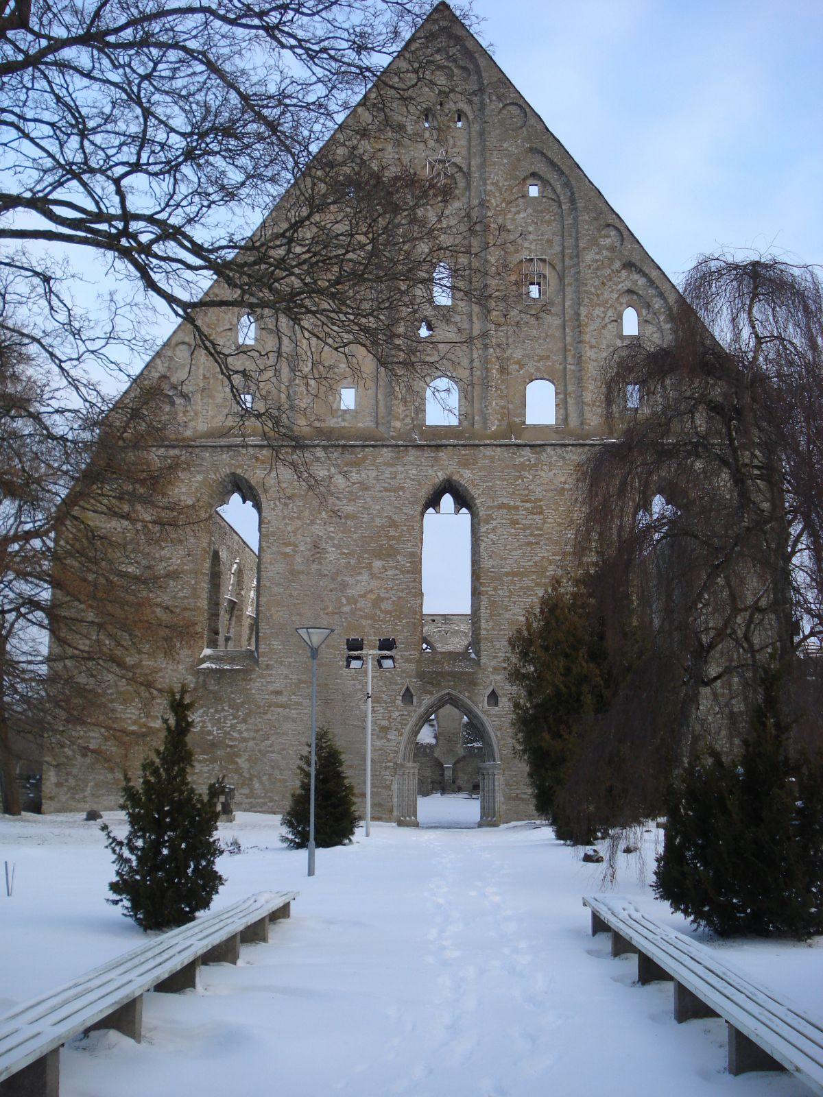Šv. Brigitos vienuolyno griuvėsiai