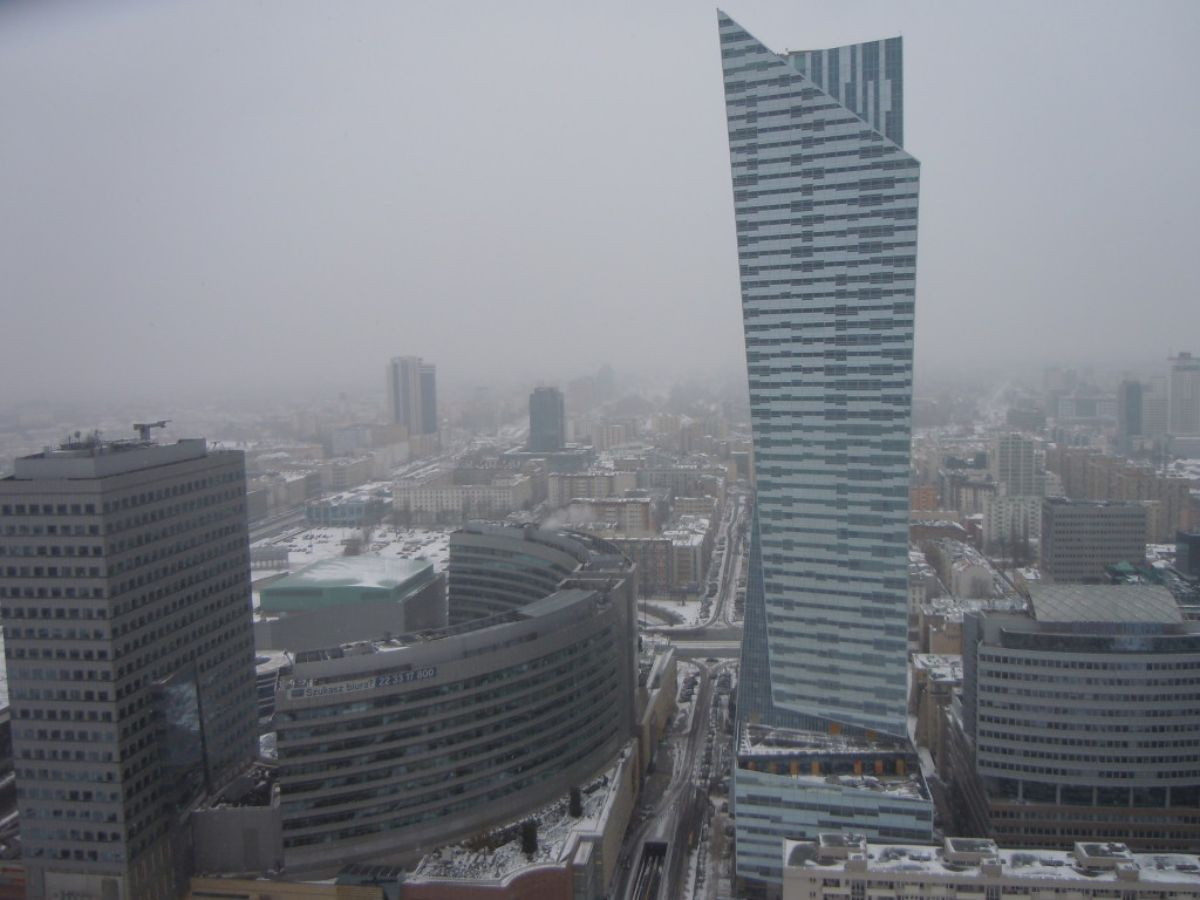 Varšuva iš aukštai