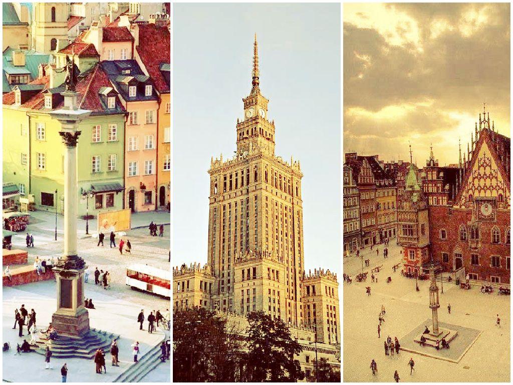 Varšuvos miesto lankytini objektai