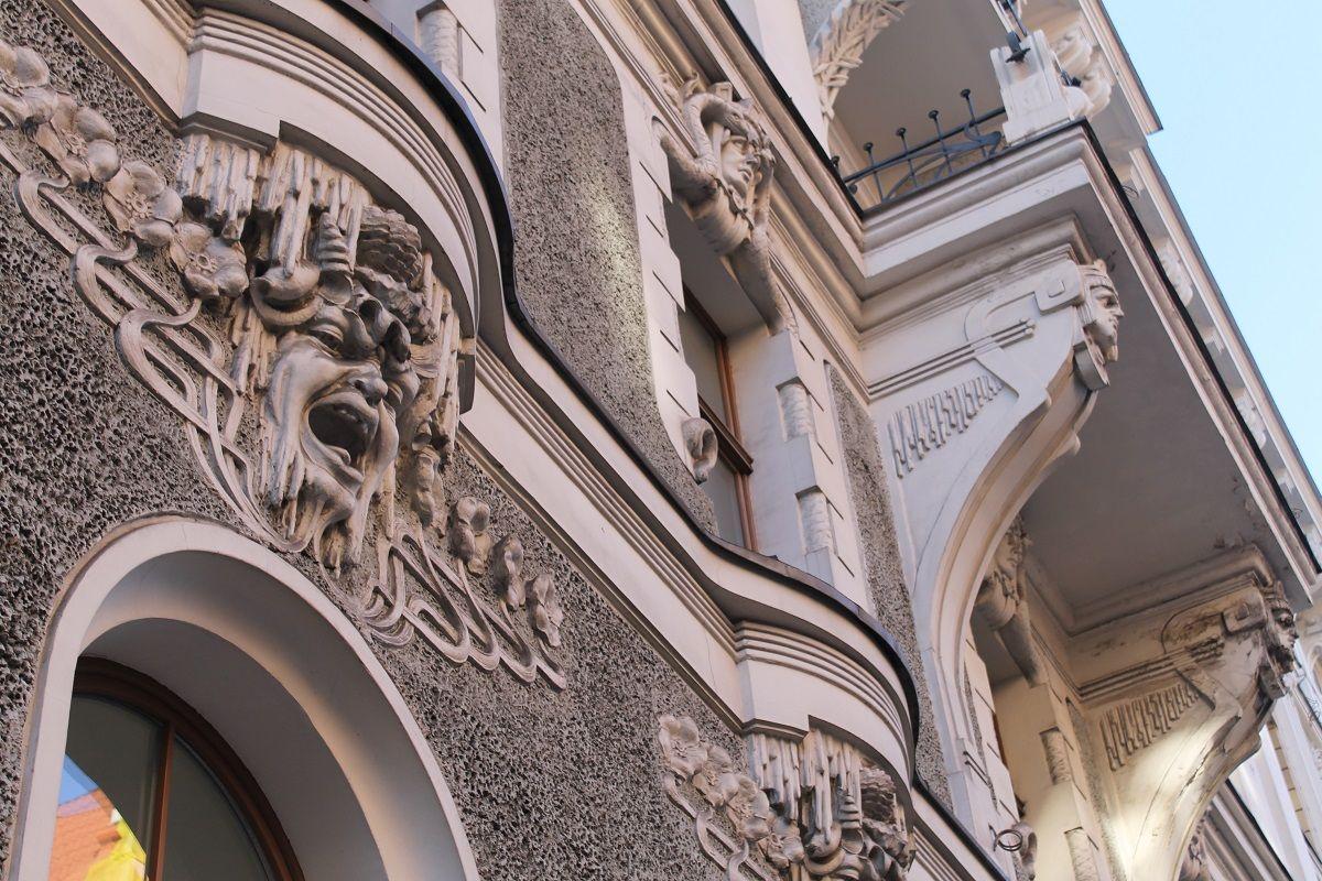 Jugendo stiliaus pastatas