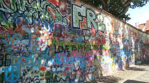 Džono Lenono siena