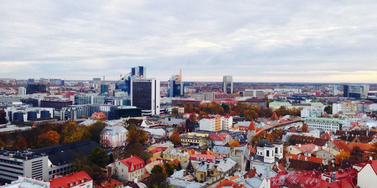 Panorama iš Olavo bažnyčios viršaus