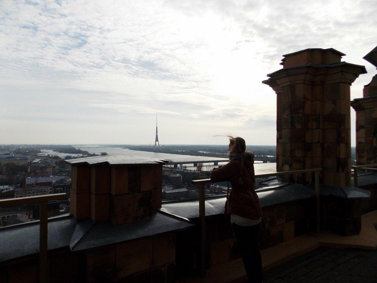 Vaizdas nuo Latvijos Mokslų akademijosstogo