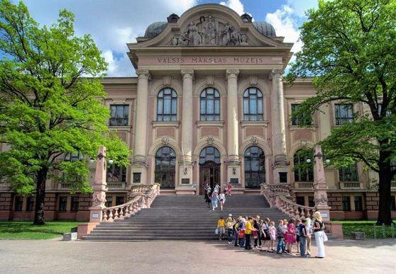 Nacionalinis Latvijos meno muziejus