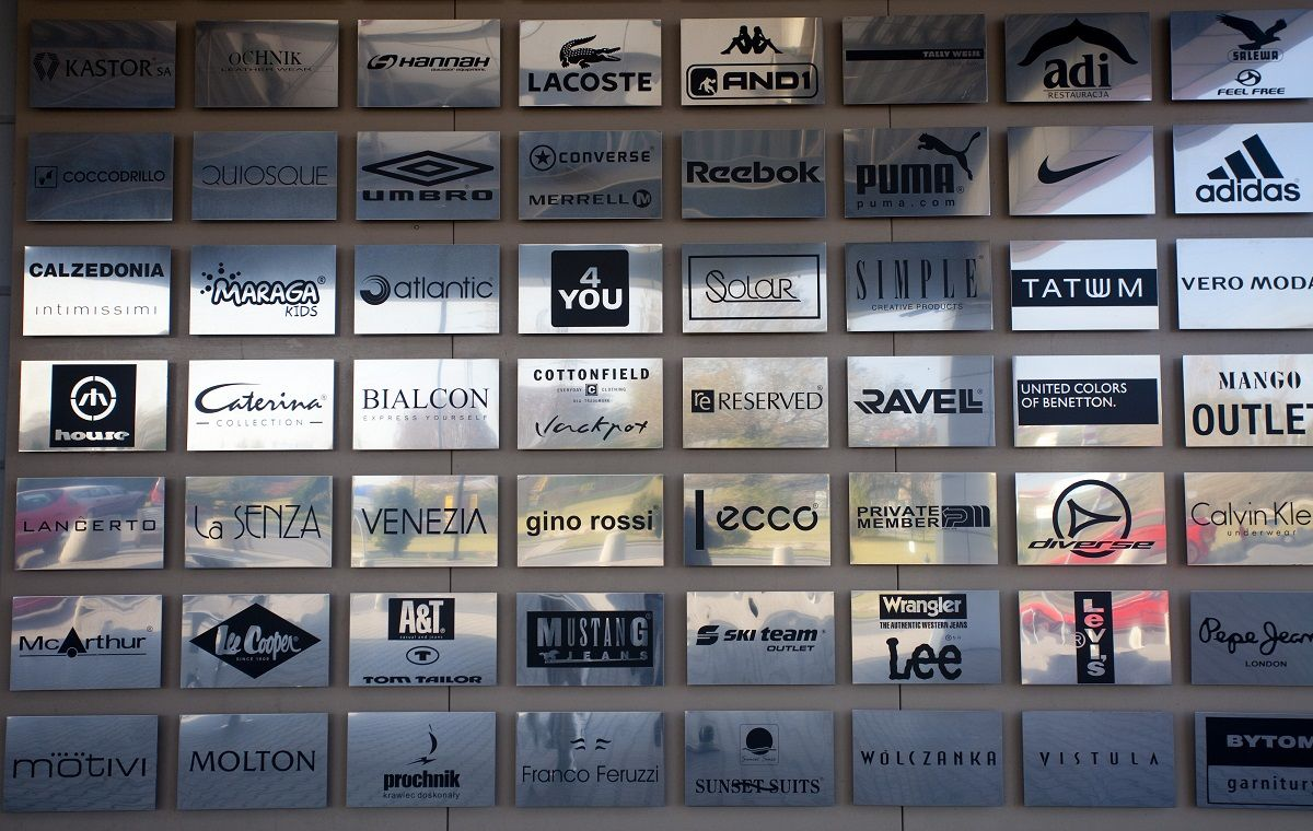 Factory Ursus turi nemažą prekinių ženklų pasirinkimą