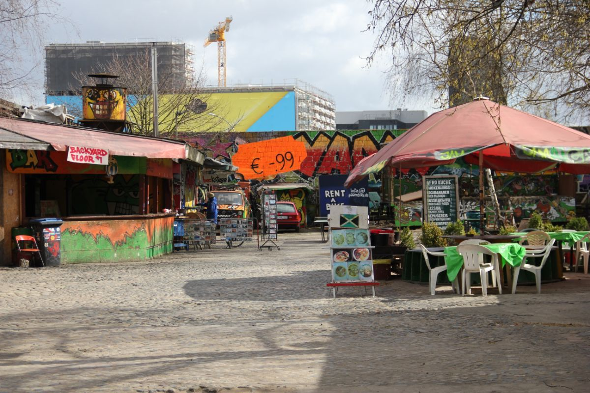 Berlyno grafitti