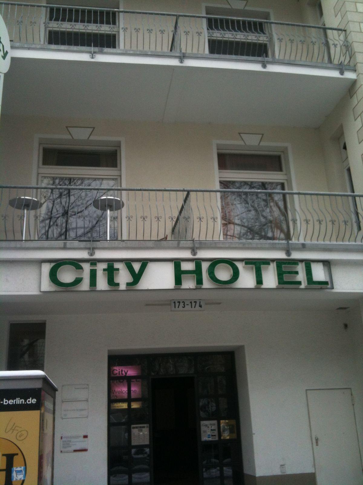 Viešbutis, kuriame apsistojau - City am Kurfurstendamm