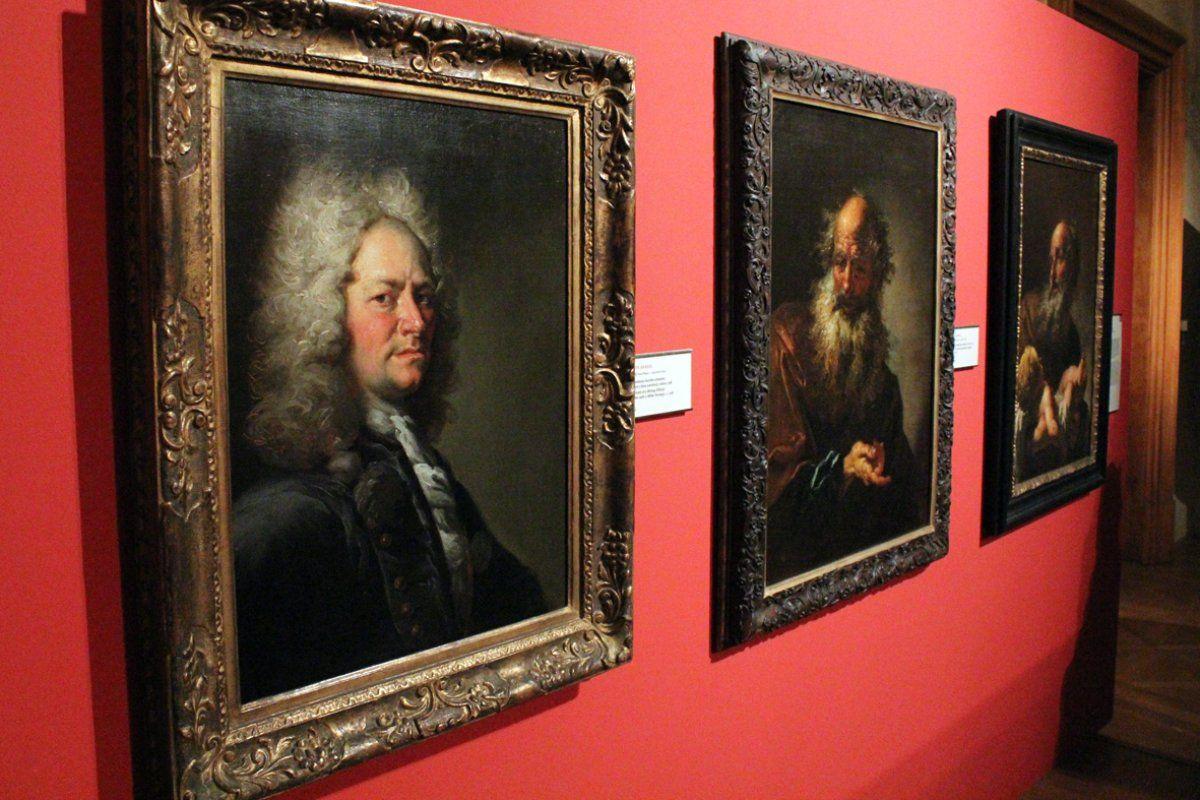 Brandl portretų ekspozicija Švarcenbergo rūmuose