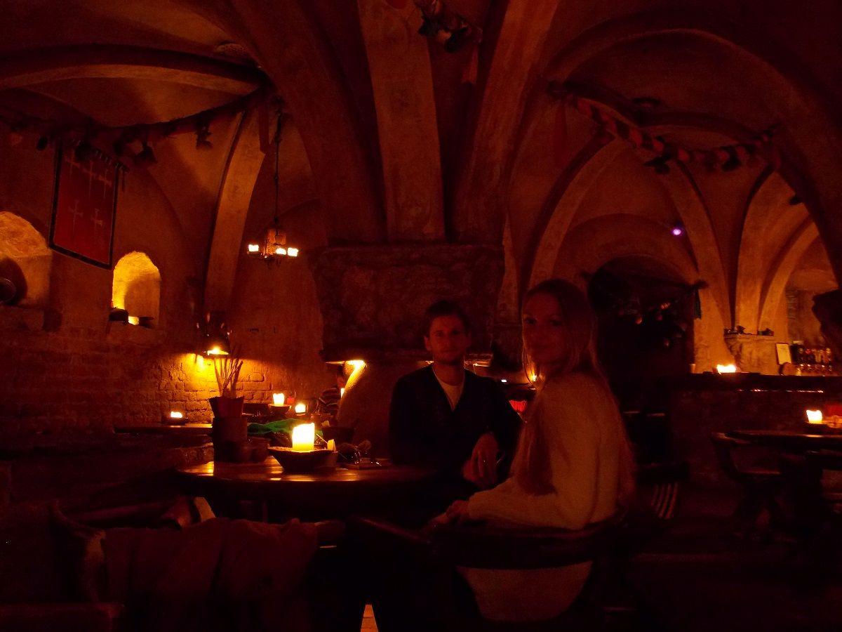 Viduramžių stiliaus restoranas Rozengrals