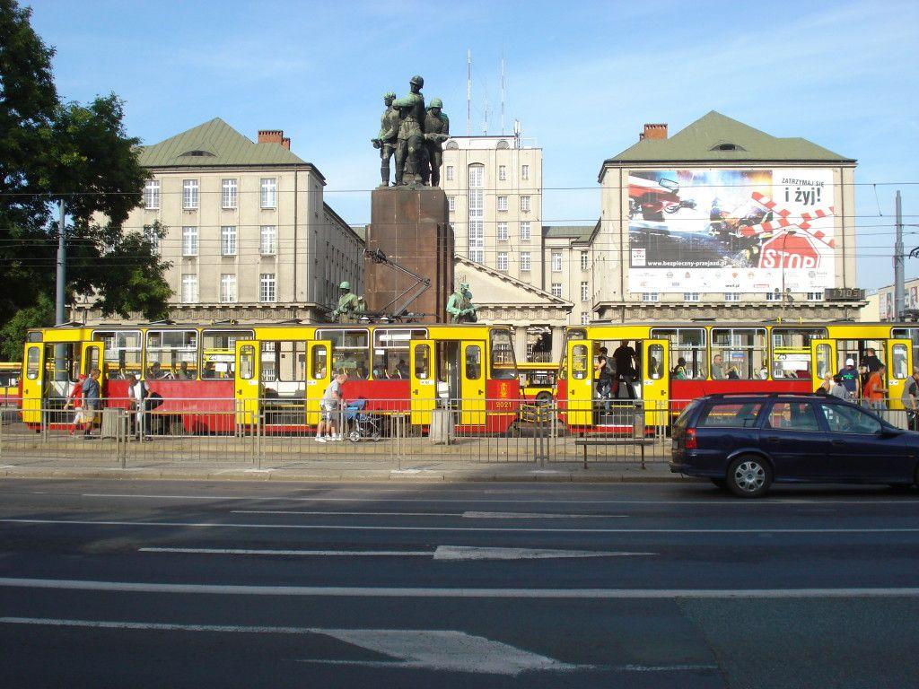 Varšuvos centre zuja daugybė tramvajų