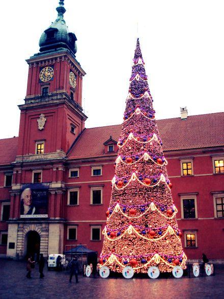 Varšuva per Kalėdas