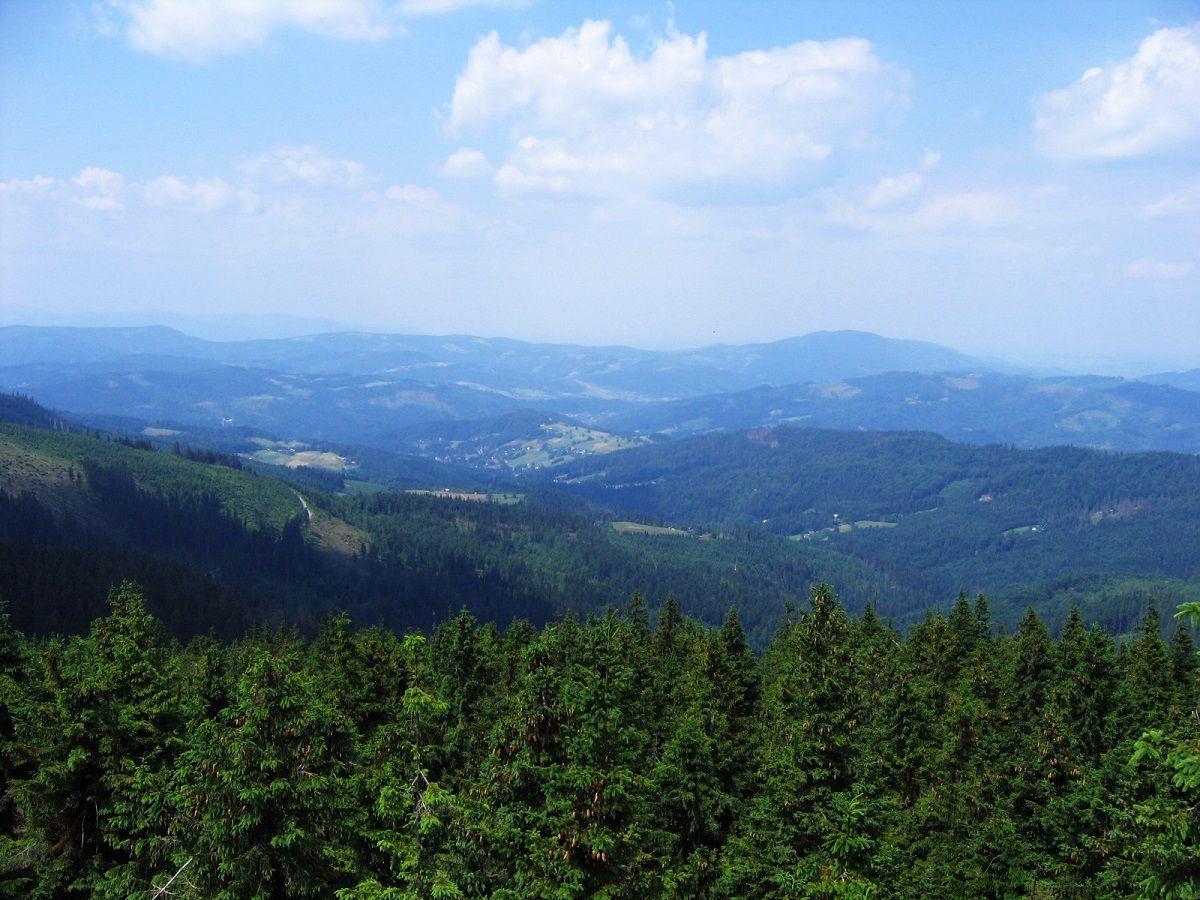 Kalnų vaizdas užkopus į daugiau 1500 m aukštį. :)