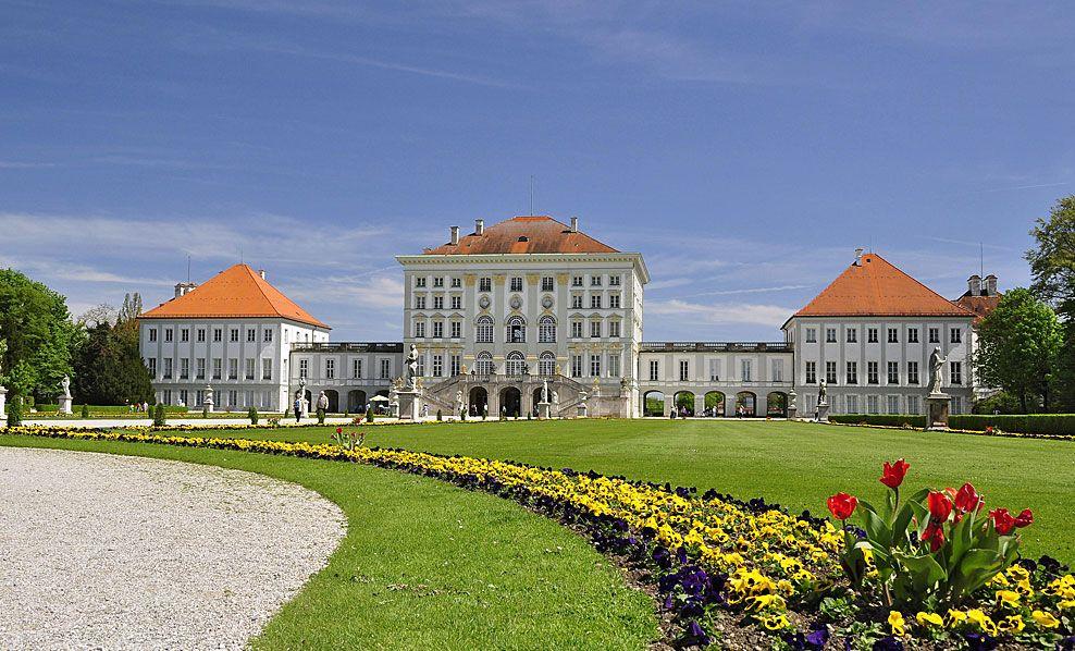 Nymphenburgo rūmai Miunchene
