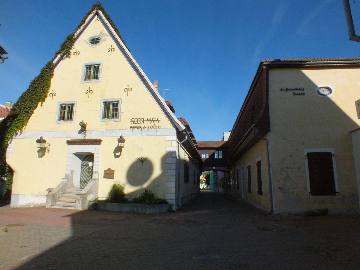 Pats seniausias miesto pastatas - Seegi maja