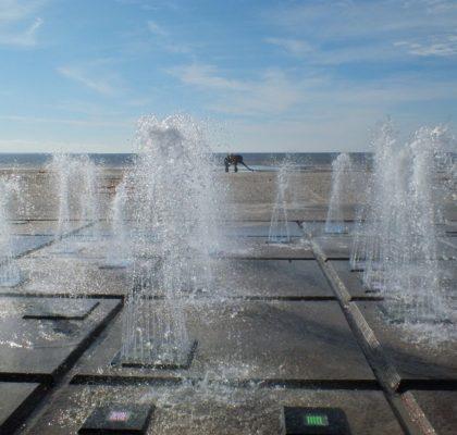 Fontanas paplūdimyje