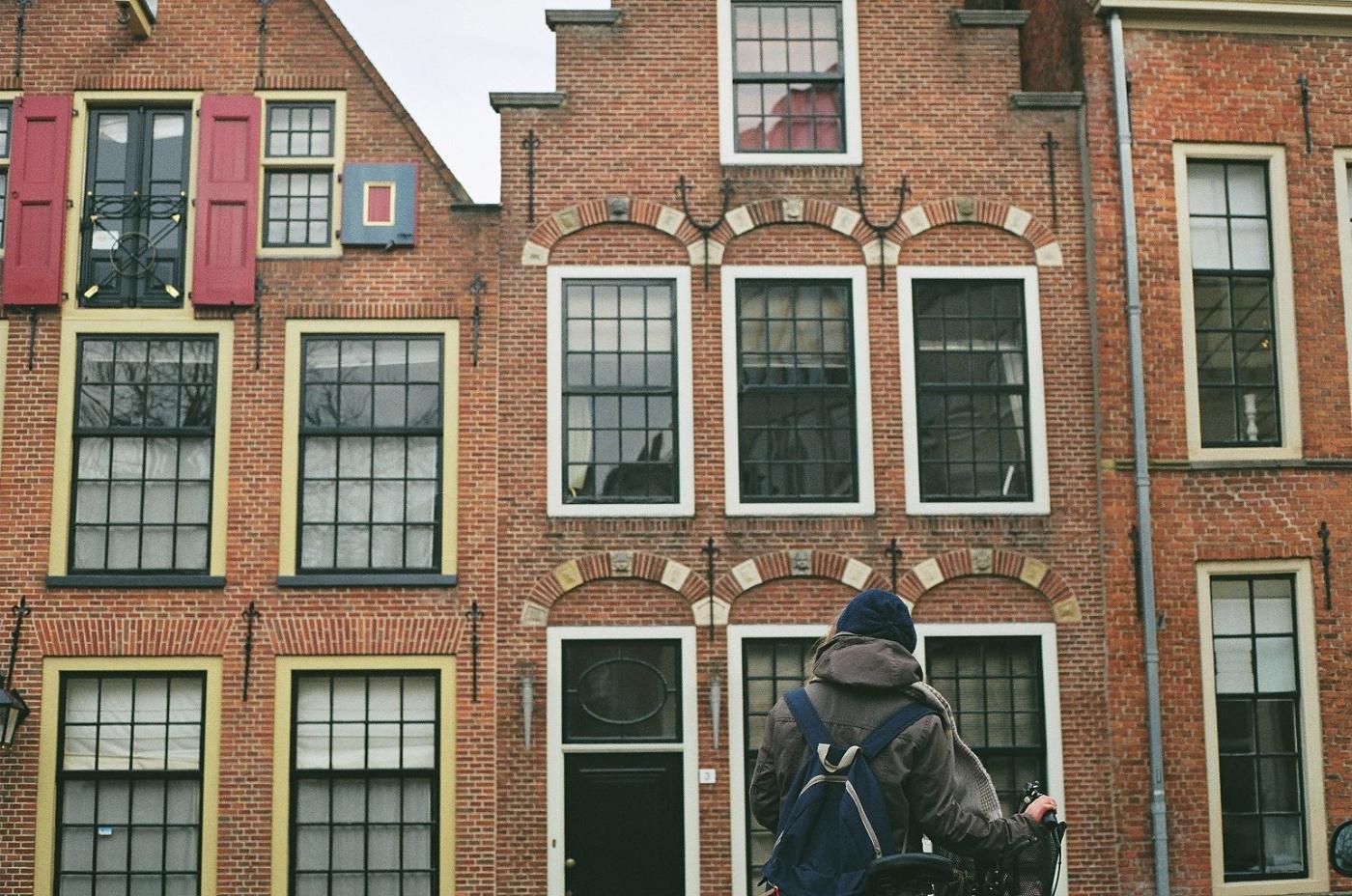 Sint Walburgstraat gatvės pastatai